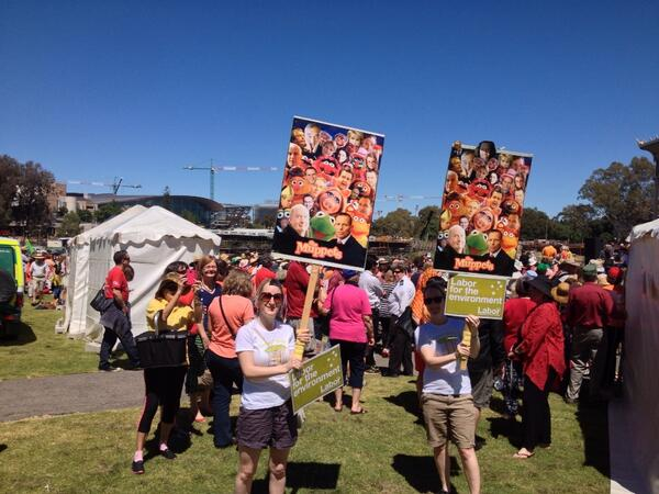 Crowd building at #climateaction in Radelaide. In science we trust. http://t.co/rGT9o04wqE