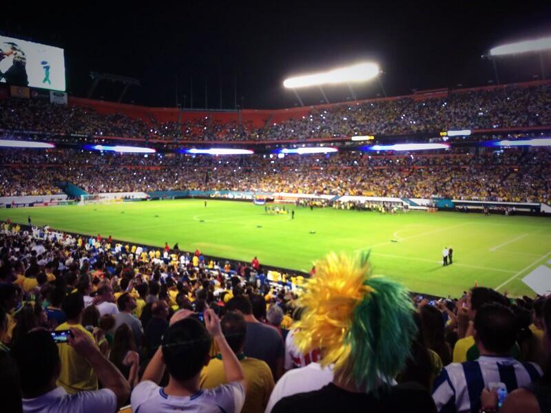 Honduras vs Brasil Amistoso Internacional Sun Life Field Miami