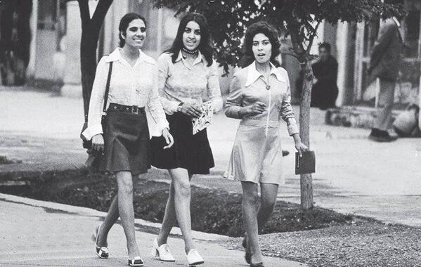 Afghan women in Kabul, 1972, before victory of the Pentagon's jihadist allies