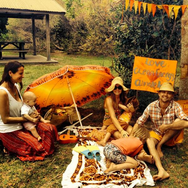 Family #climateaction photos at Brunswick Heads, NSW! http://t.co/wCkr4InsU2
