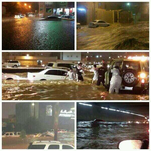 رد: تعطل الدراسة في مدينة الرياض وسيول تغرقها