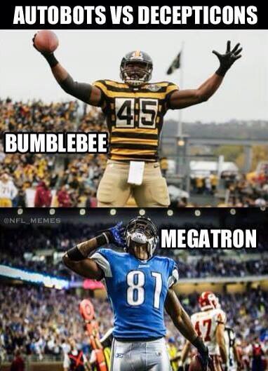 Nfl Memes On Twitter Pittsburgh Steelers Vs Detroit Lions