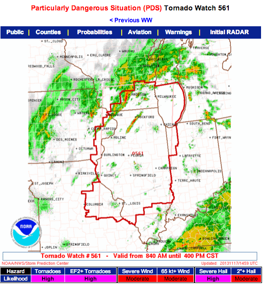 #NOAA #tornado watch today http://t.co/V4vurTESHr http://t.co/8guCeGaqf9
