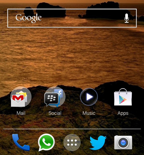 Twitter / echenze: Switched to Nova Launcher beta ...