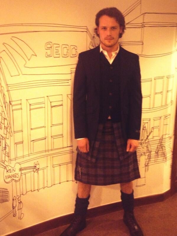 Outlandish Observations: Sam Heughan interview in The Scotsman