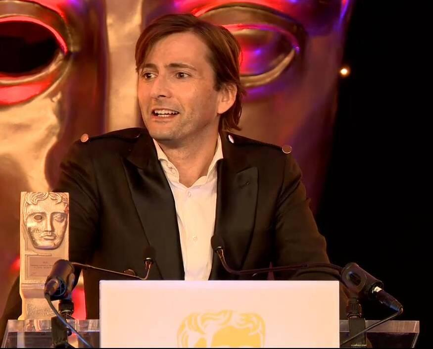 David Tennant at BAFTA Scotland