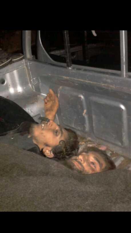 صورة عجيبة لشهيدين من أسود جبهة النصرة
