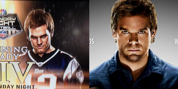 Tom Brady, or Dexter?