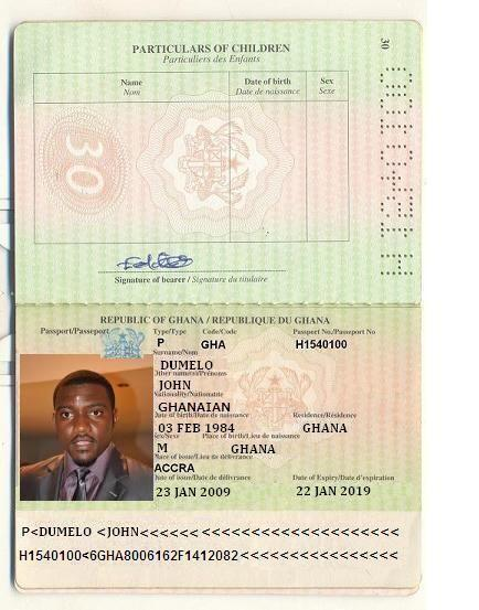 See The  Fake PassPorts Scammers Created for John Dumelo.