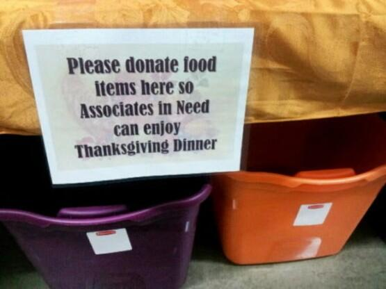 beyond satire RT @thinkprogress: Walmart's canned food drive for its own underpaid employees http://t.co/IaltaQCn3g http://t.co/qEd9oEhNAR