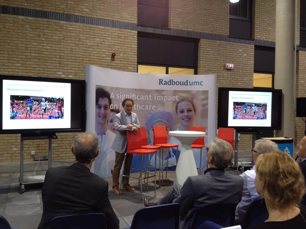 Twitter / JimmieHonings: #Radboudumc Grand Round over ...