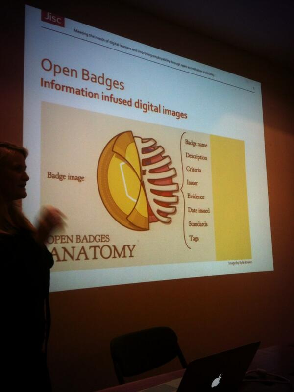 Really interested to learn about new concept of #OpenBadges in #education! @okfnscot #opendataGLA http://t.co/vWmkaetyIJ