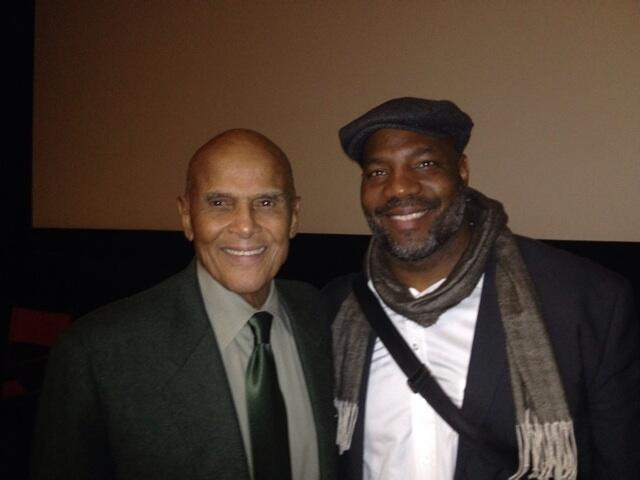 Twitter / jelani9: Got to meet Harry Belafonte ...