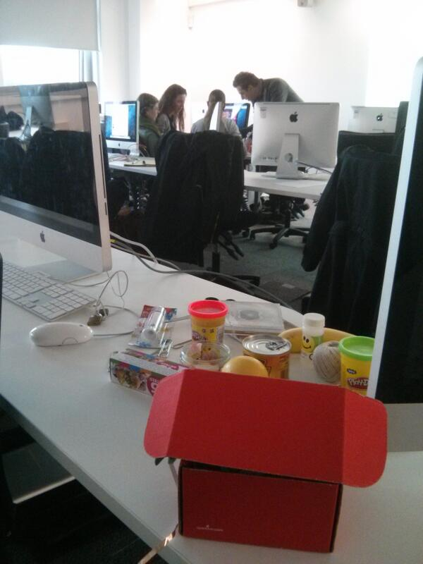 Here with the @bcufuturemedia team teaching the benefits of user experience through #makeymakey and #gallerycamp13 http://t.co/Ia7FXHDdqt