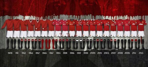 The History of Manchester United Jersey - Page 13 - United Indonesia - Manchester United ...