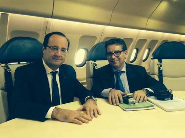 Accusé d'agression sexuelle, Haziza voyage gratis avec Macron en Israël