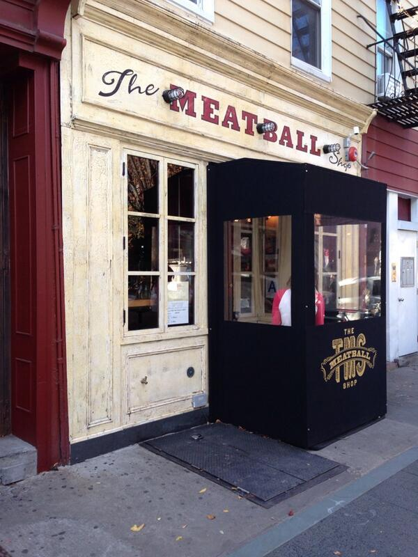 Late lunch at Meatball Shop on Bedford Ave http://t.co/3IyneYzXKz