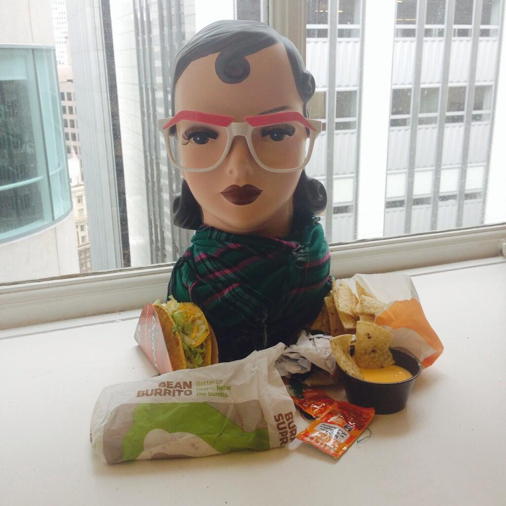 Twitter / BenefitBeauty: .@tacobell...more like taco ...