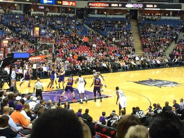 Empty Seats Galore on Twitter: \'Sacramento