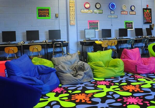 Learning Commons at Hillsborough Elementary School (NEW) | #NCed http://t.co/yoO8Nky06v