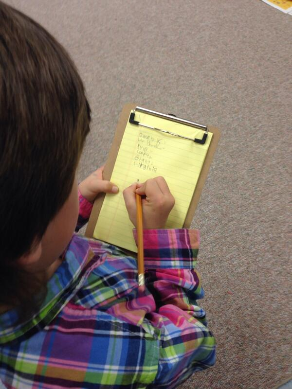 Our grade 2's were busy conducting surveys about favourite toys bf the holidays #tvadmin #visiblelearn http://t.co/GfJ1G3Qxaq