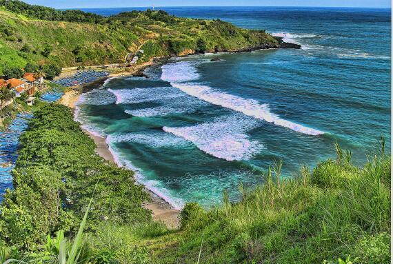 Menganti beach, Heaven in Kebumen Center Java