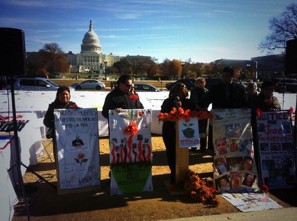 """How many more tears and blood must be shed along our border?"" #TimeIsNow #Fast4Families http://t.co/MR7iHFGjbE"
