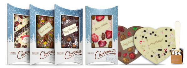 Create your own chocolate bars this holiday season! http://t.co/1G9EukFNV7 #Chocomize #Chocolate #Holiday #Gift http://t.co/5vFJp22Esj