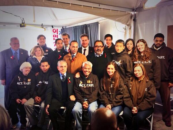 The CHC is honored to meet with @fast4families to call for immigration reform. #timeisnow http://t.co/TlS39vrJwG