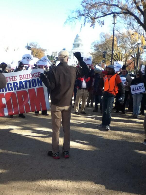 Crossing the bridge for immigration reform  #timeisnow #Fast4Families http://t.co/nCs8H9uwzR