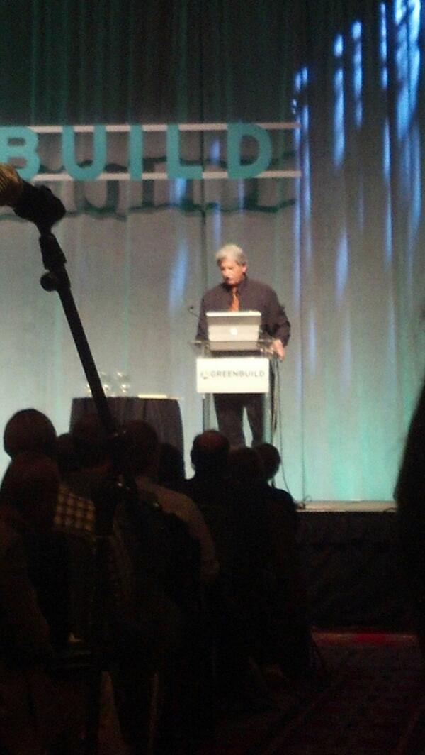 Listening to Ed Mazria speak at #greenbuild on the state of energy use. http://t.co/dqmasttjNS