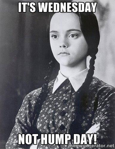 It's #Wednesday, not #HumpDay  #SnapSnap  #TheAddamsFamilyTour http://t.co/46jJ5dupnX