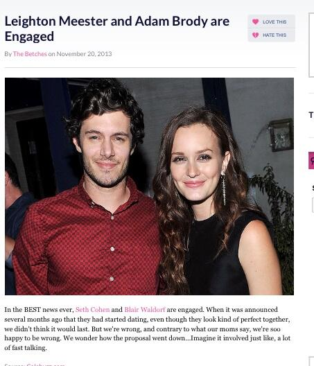 Seth Cohen dating Leighton Meestercelibatair dating Verenigd Koninkrijk