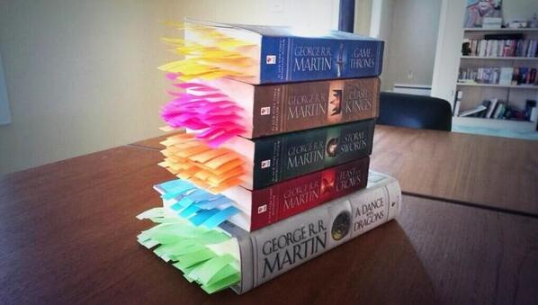 Every death in GoT bookmarked - #infopictic http://t.co/bX1OBKD1TH