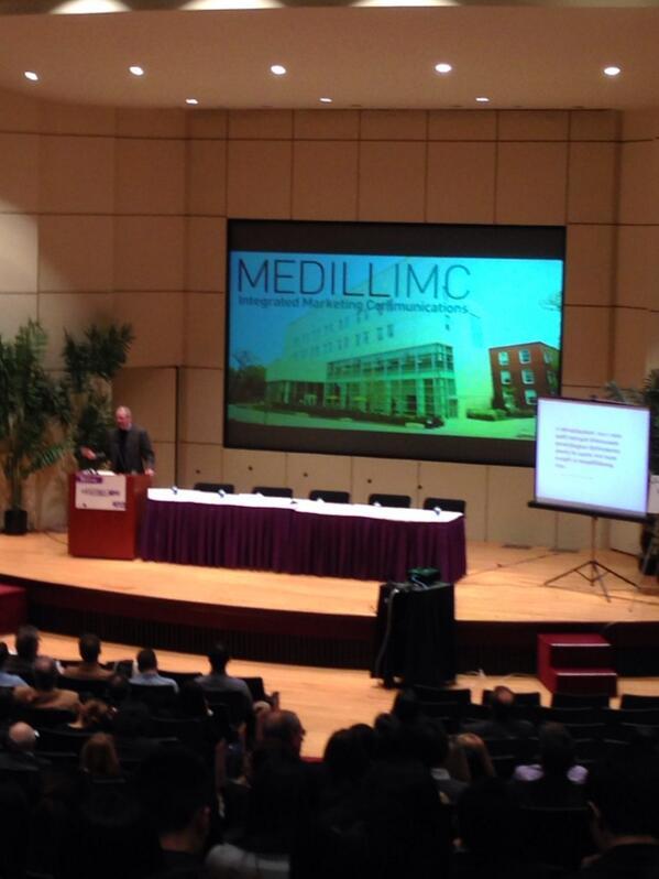 @MedillSchool Dean Brad Hamm & Associate Dean Frank Mulhern officially opened our discussion tonight #MedillTalentQ http://t.co/Rx5knH5A5S