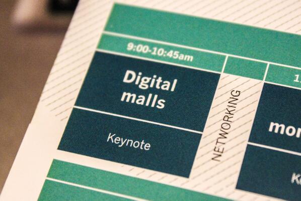 2ème journée de #DWS13, ce matin c'est Digital malls et c'est en live streaming ici : http://t.co/2VcAvWGe1U http://t.co/0W8GGiYOrI