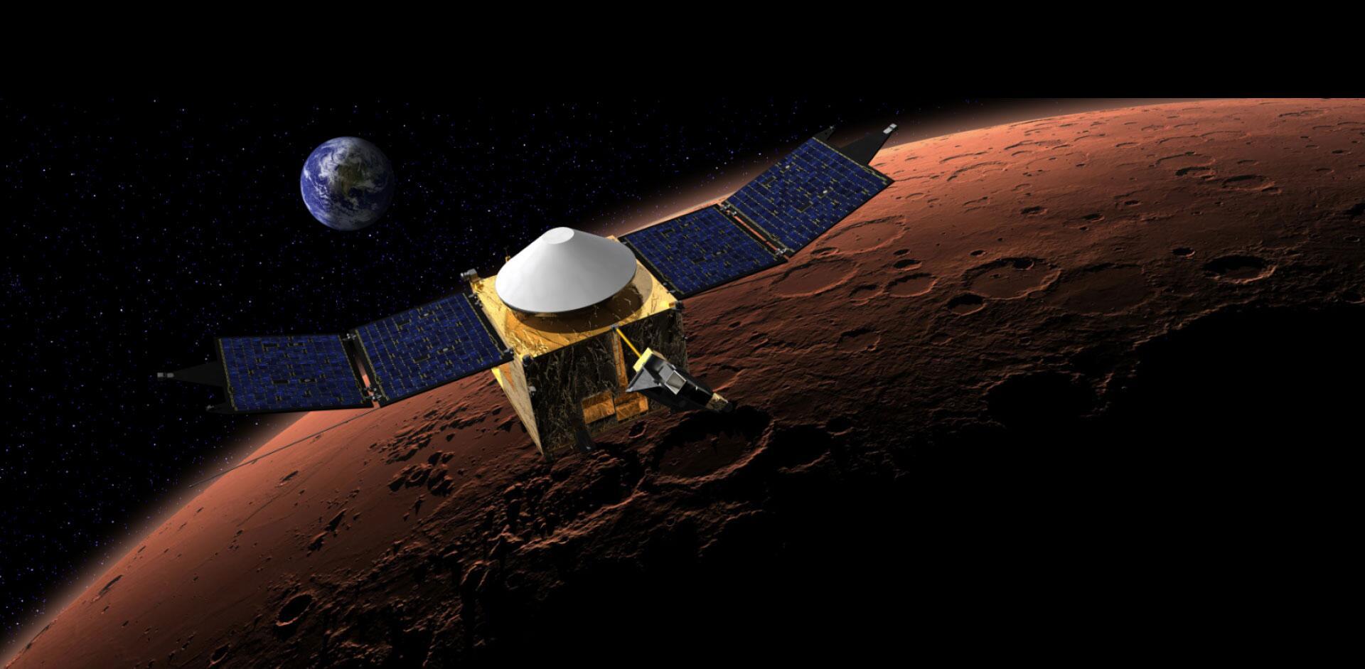 "NASA's MAVEN Mission on Twitter: ""#MAVEN solar panels are ..."