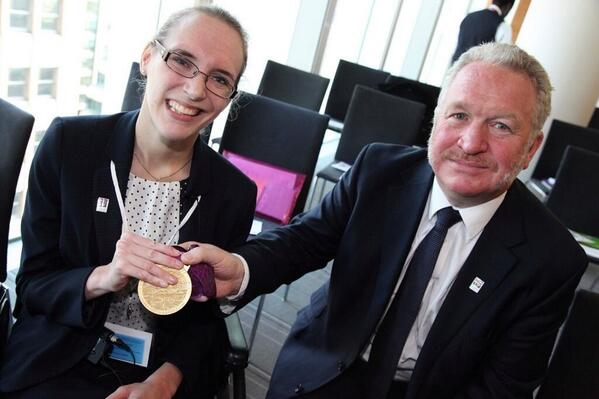 .@SChristiansen87 supports the DWP #disabilityconfident campaign with Minister Mike Penning http://t.co/i6Jmh5sqYX