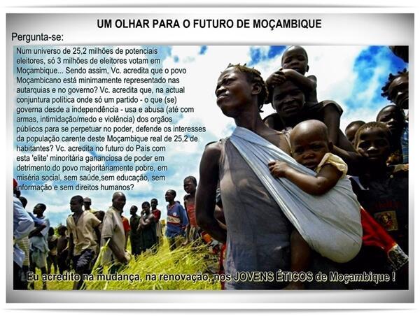 #Moçambique - #Eleições à vista ... O #POVO PIRA NO VOTO INCO... on Twitpic
