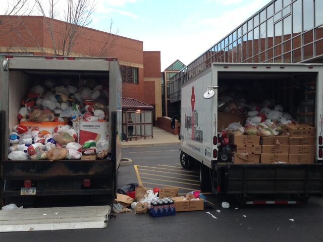 Buffalo Food Bank Drop Off