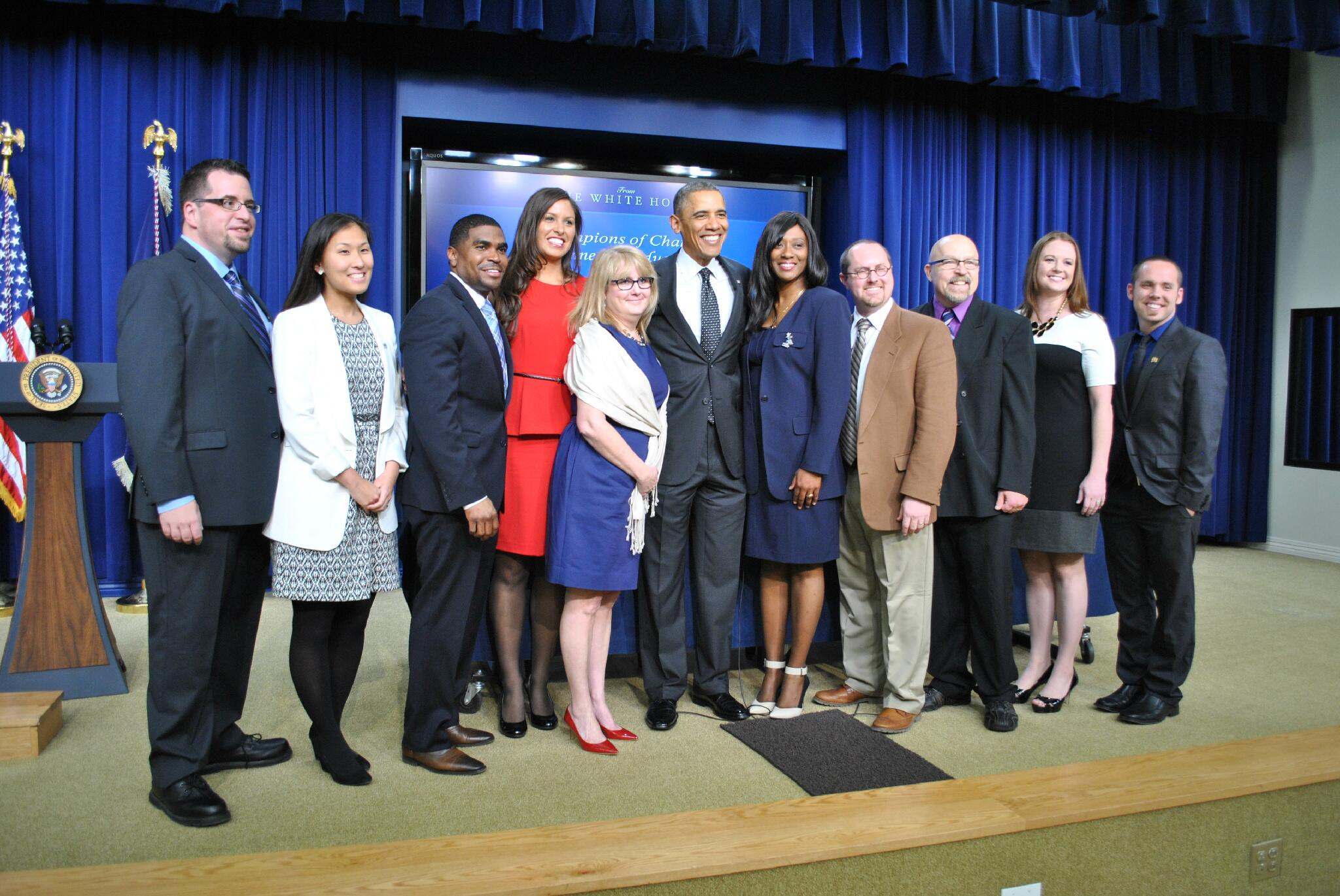 Twitter / PAniskoff44: POTUS honors educators preparing ...