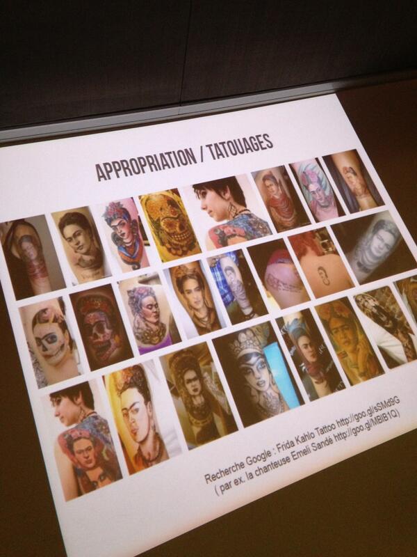 Tatouage Frida Kahlo #Transmedia http://t.co/xeBrxf9Amq