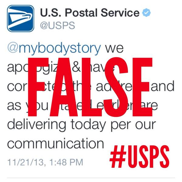 U S  Postal Service on Twitter: