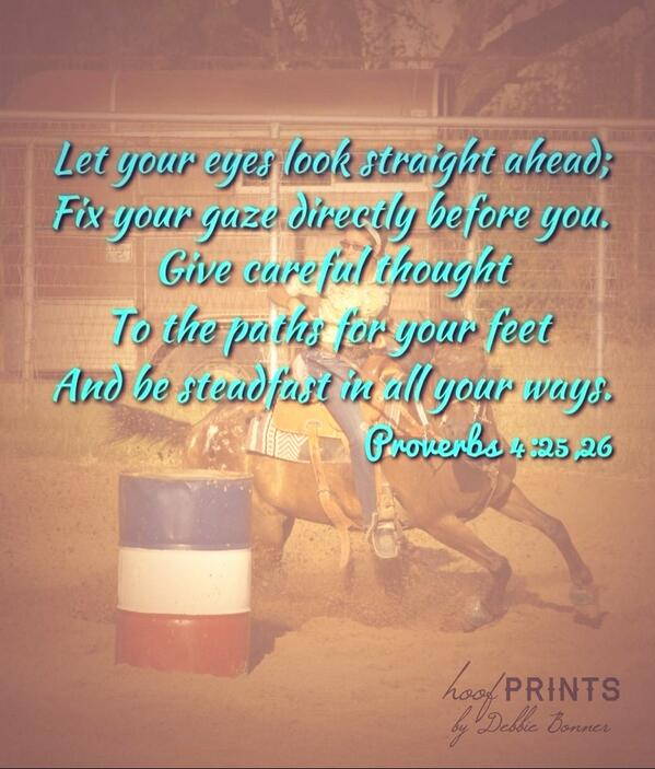 barrel racer on twitter barrel racing advice in the bible yes
