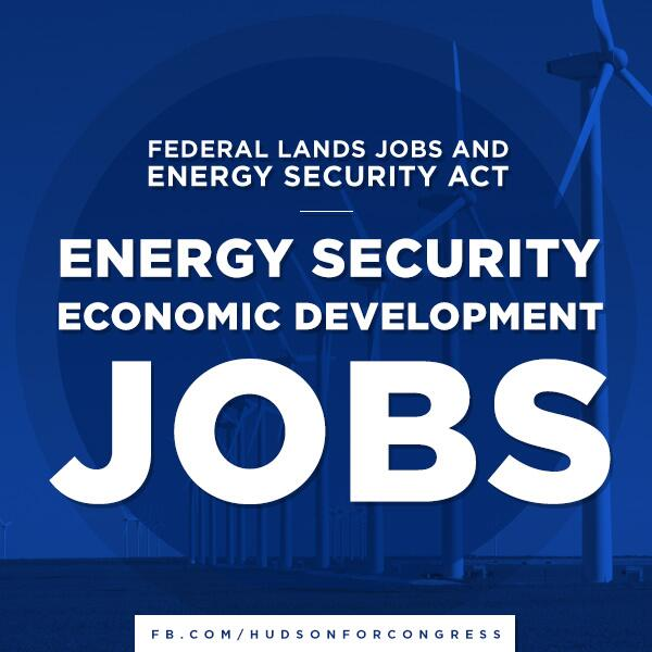 Federal Lands Jobs and Energy Security Act