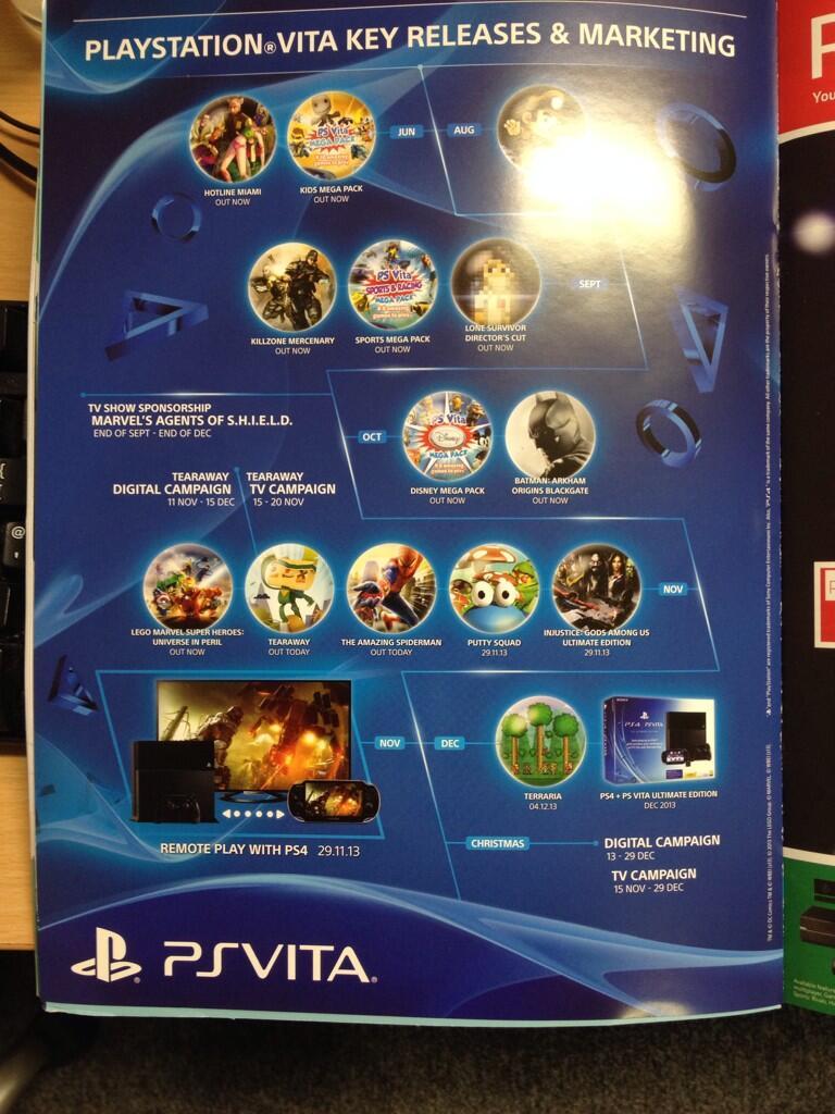 PS4 And PS VITA Ultimat Bundle Ad