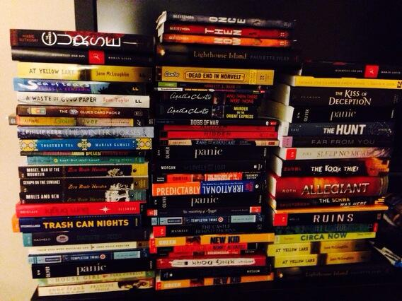 Looks like @wjmere and Cort have been busy today. #ncte13. Good thing we have an extra suitcase. http://t.co/jpJPHyVaDh