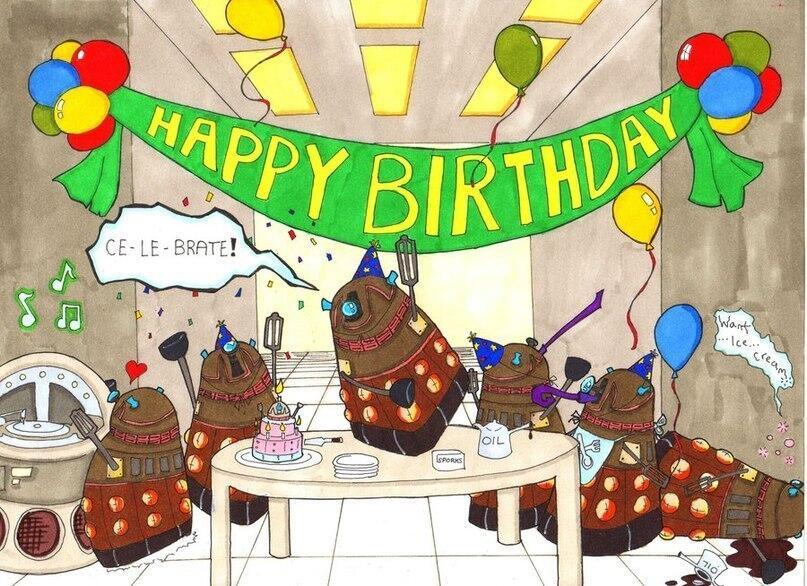 С днем рождения доктор картинки