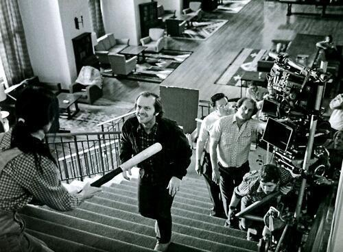 Wendy Backing Up The Stairs Swinging Baseball Bat In Shining Stanley Kubrick Had This Scene Shot 127 Times