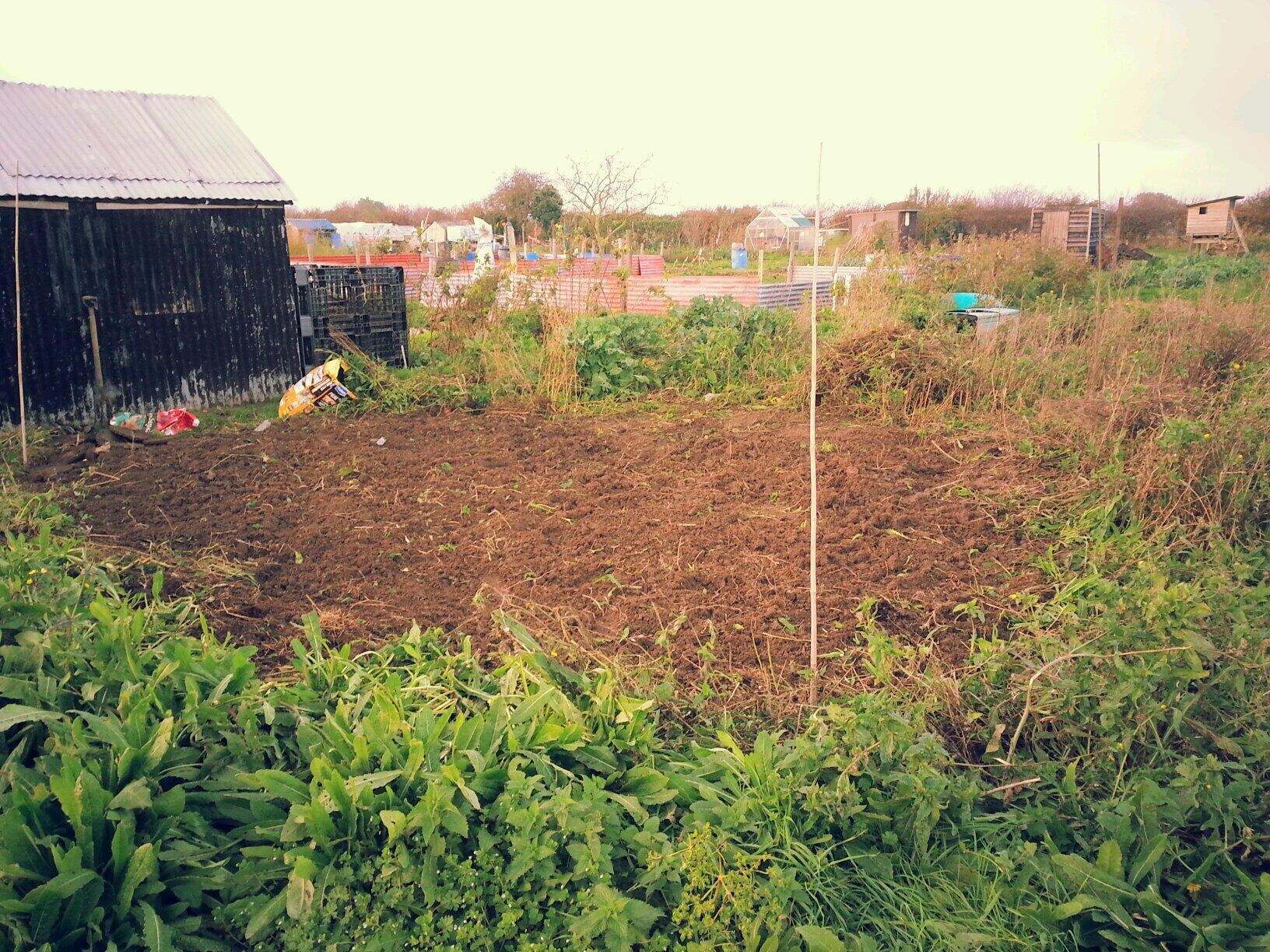 A Low Maintenance Time Friendly Allotment Plan For 2017